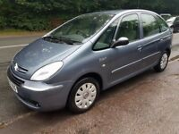 2007 citroen picasso 1.6 ideal family car low miles new mot very clean throughout