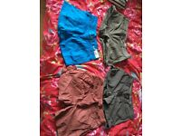 Women's shorts for sale 4 pairs