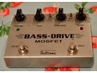 Fulltone Bass-Drive Mosfet Overdrive pedal - RARE