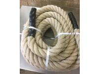 7 Metres of 44mm Synthetic Rope. Brand New