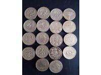 £1 coins different designs.