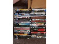 Loads of Dvds with a few blu-rays for sale