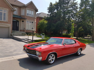 **1972 CHEVY CHEVELLE SS CLONE** FAST & BAD A$$ **