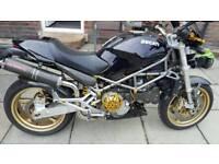 Ducati 916 monster motorcycle motorbike