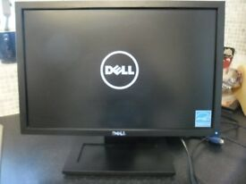 """DELL 17"""" Flat Screen Colour Monitor"""