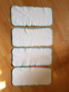 AMP bamboo booster inserts for cloth diapers