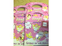 30 x Wholesale Joblot My Carry Along Angel Activity Book Party Birthday