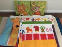 Lovely nursery animal bedroom bundle