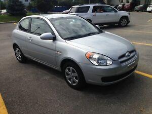 Hyundai Accent 2009, très bas kilometrage, seulement 14 600 km