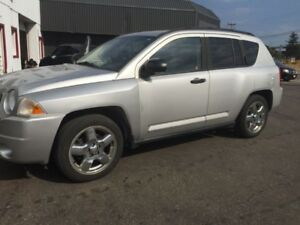 2007 Jeep Compass Leather/Chrome wheels/Sunroof Certified!