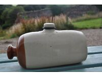 old hot water bottle
