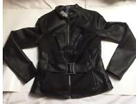 Hot Topic Limited Exclusive Marvel Black Widow Faux-Leather Jacket - small/medium