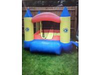 Bouncy castle airflow