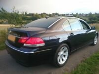 BMW 7 Series 5.0 750Li LWB 4dr 2005, ~116k, massage seats, cooling seats, rear tv, sport package