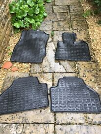 BMW X3 rubber floor mats. Genuine parts
