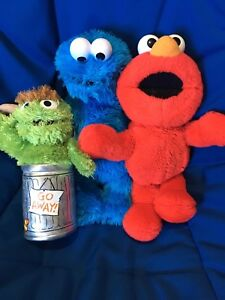Sesame Street Elmo Cooke monster oscar