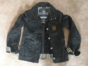 Brand new Superdry denim jacket in black size S small