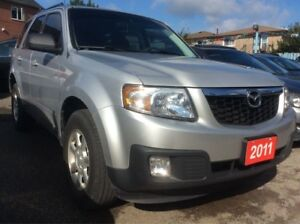 2011 Mazda Tribute GX LOW KM 67K 4 CYLINDER !