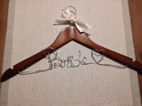 Bride Hanger for Wedding Dress