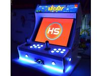 looking for a bartop arcade machine either based on retropie or pc