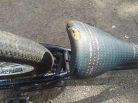 GT ZONE BMX Bike Frame 3 Piece crank Big Bolt Frame & Rear Wheel Complete