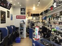 Computer and mobile phone repair shop in Broxburn, West Lothian (close to Edinburgh) for Sale