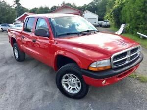 2004 DODGE DAKOTA *SPORT* 4X4 AUTOMATIQUE/AIR CLIMATISÉ *4X4*