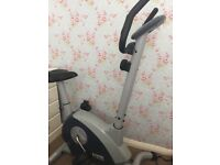 Jessica Ennis exercise bike used but in good condition measures heart rate speed calories and more