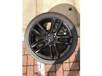 Vauxhall Corsa limited edition alloy wheel