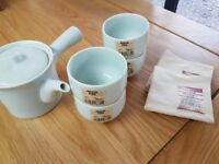 Chinese Tea Set and coasters