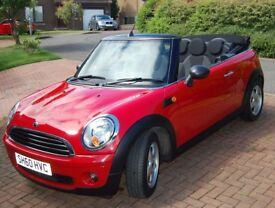 Mini One Convertible Low Mileage Immaculate