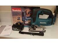 Makita Brushless jigsaw DJV182Z and 5.0ah battery