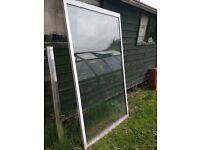 Free. Large triple glazed, aluminium window panel