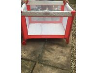 New child's cot for sale