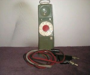 VINTAGE Northern Telecom Rotary Test Phone 1967B (Telephone).