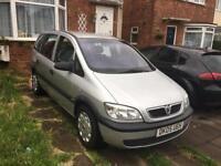 2005 Vauxhall zafira 1.6