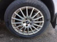 17 inch 5x112 OZ Racing Alloys Vito T4 T5 set of 4 with good tyres. BARGAIN!! Camper VW T2 T25 Alloy