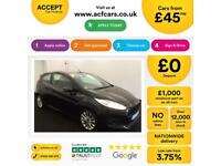 Ford Fiesta Zetec S FROM £45 PER WEEK!