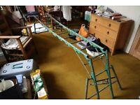 Folding multi-purpose combination ladder