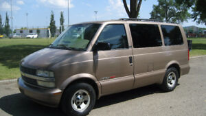 2002 CHEV ASTRO - AWD -  HANDICAP VAN - ONLY 131,000 KMS - $4900