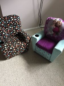 2 pc set/Furnitur/recliner/couch/chair/kids/set of 2/