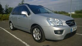 Kia Carens MPV 7 Seater 138hp GS CRDI , with FSH annd V-low miles 49020