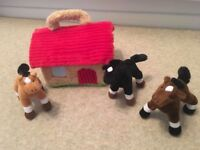 Soft stable and horses - excellent condition