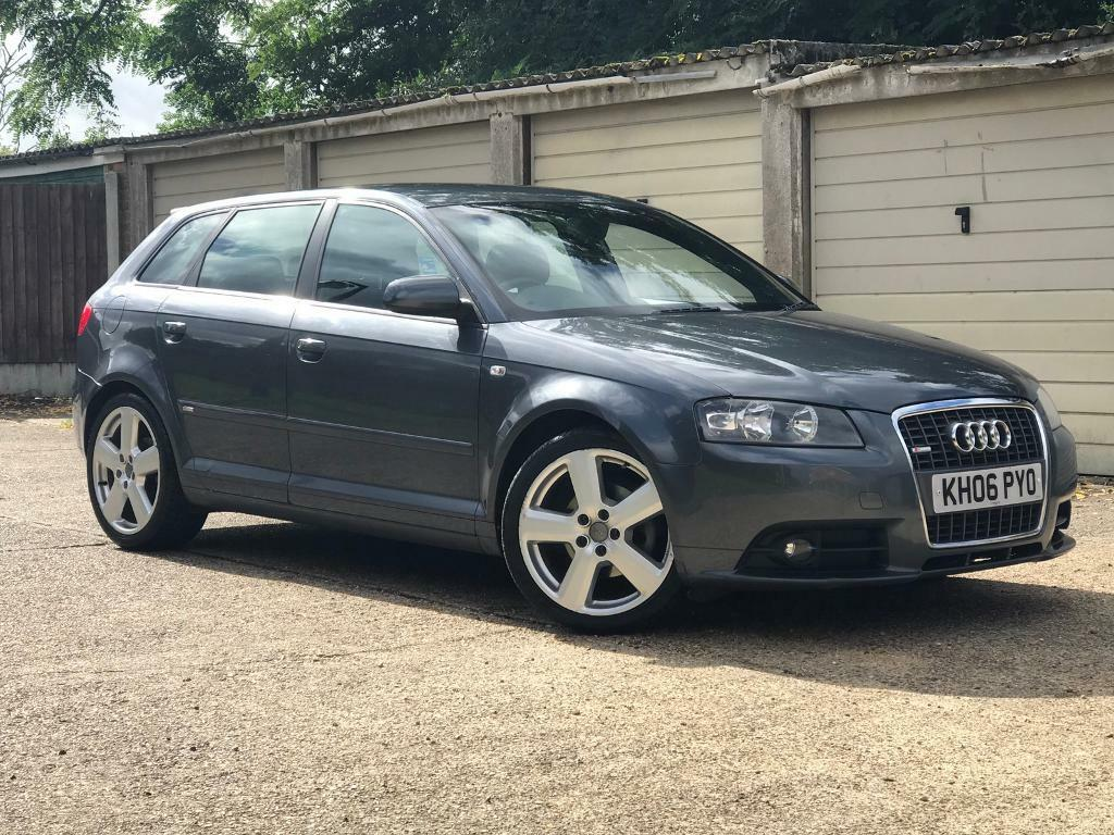 2006 audi a3 sportback tdi s line dsg automatic in colchester essex gumtree. Black Bedroom Furniture Sets. Home Design Ideas