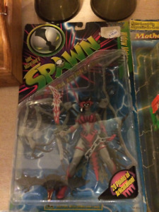 Kingston, action figures , such as Kizz , Spawn