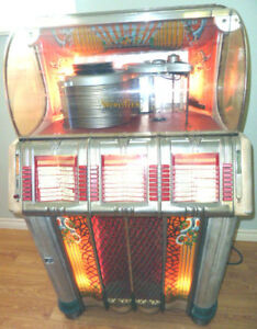 1950 WURLITZER JUKE BOX MODEL 1250
