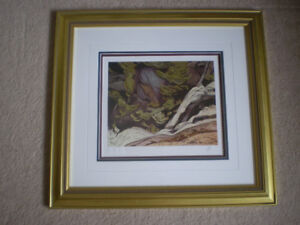 """A.J. Casson - """" York River """" Initialed Limited Edition Print"""