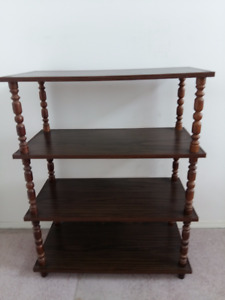 Sturdy 4 level Shelving Unit