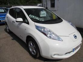 2015 NISSAN LEAF ACENTA ELECTRIC HATCHBACK ELECTRICITY