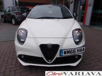 2016 Alfa Romeo Mito 1.3 JTDM-2 Speciale 3dr Diesel white Manual